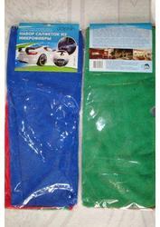 Tряпочки, салфетки, полотенца из микрофибры для офиса, дома, автомобиля
