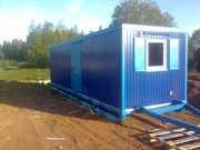 Производство блок контейнеров,  вагон домов,  металлических бытовок