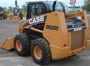 Мини-погрузчик case SR200