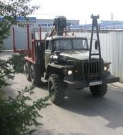 В продаже а/м Урал Лесовозный тягач с площадкой ДВС ЯМЗ
